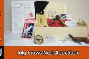 Dynasty Preppers Crows Nest Apocabox July 2016