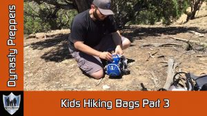 Dynasty Preppers Kids Hiking Bags Part 3