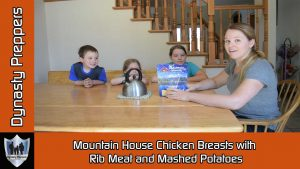 Mountain House Chicken with Mashed Potates