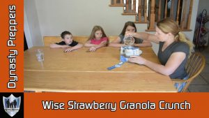 Wise Strawberry Granola Crunch