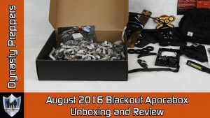 August 2016 Blackout Apocabox