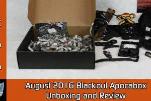 August 2016 Blackout Apocabox Unboxing and Review