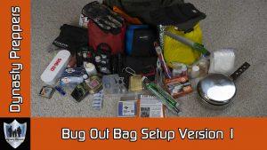 Bug Out Bag Version 1