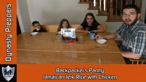 Backpackers Country Jamaican Style Jerk Rice with Chicken
