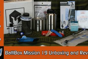 BattlBox Mission 19 Unboxing and Review