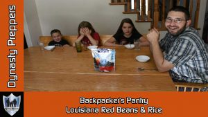 Backpackers Pantry Louisiana Red Beans & Rice