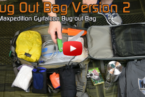 Bug Out Bag Version 2 Maxpedition Gyrfalcon