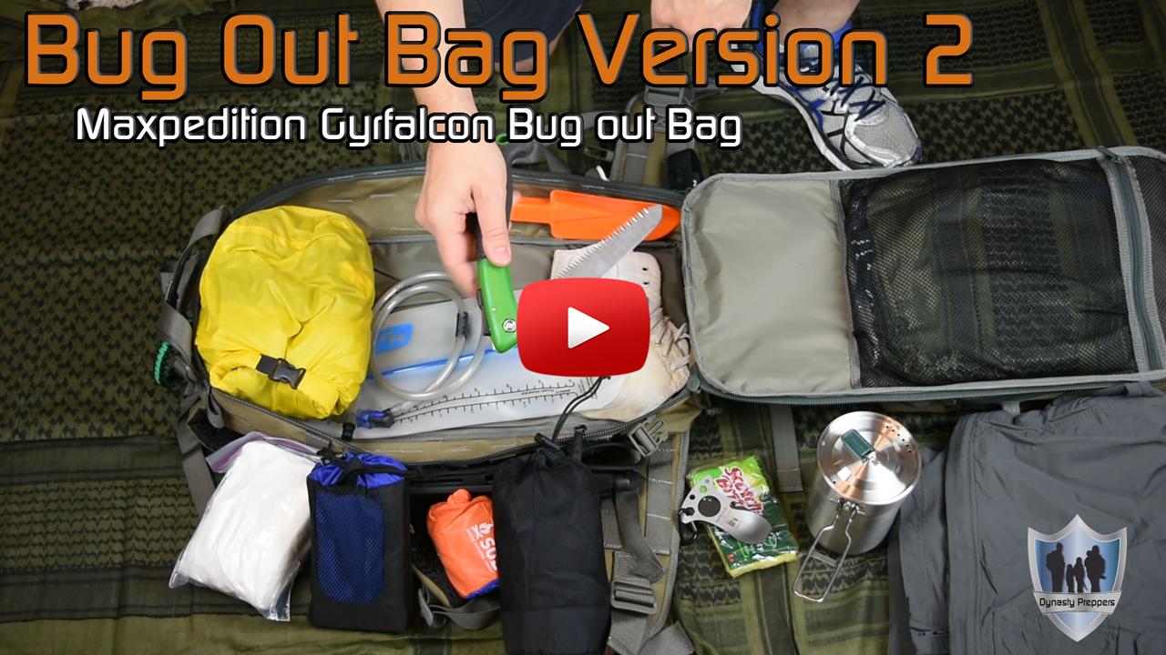 Bug Out Bag Version 2