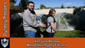 Maxpedition Pygmy Falcon II Kids Gear Review