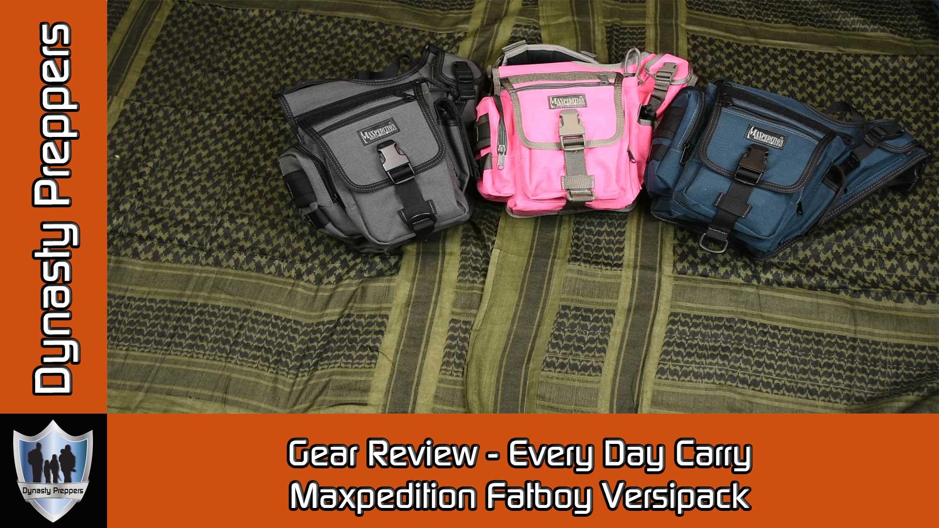 Maxpedition Fatboy Versipack