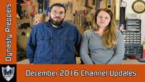 December 2016 Channel Updates
