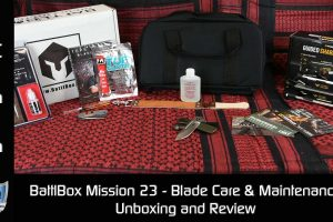 Mission 23 Battlbox Blade Care & Maintenance