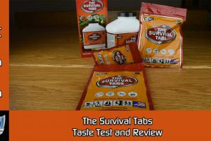 The Survival Tabs Taste Test and Review