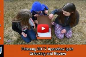 Apocabox Ignis February 2017 Unboxing