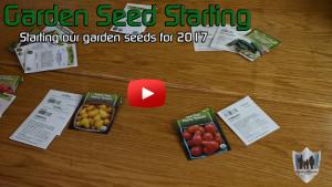Garden Seed Starting