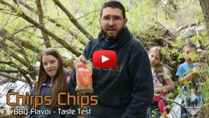 Chirps Chips BBQ Flavor
