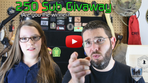 250 Sub Giveaway Drawing Thumbnail