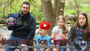 Mountain House Neapolitan Ice Cream