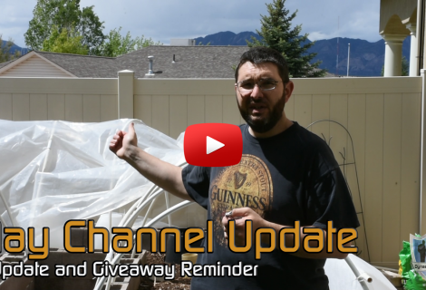 May Channel and Garden Update