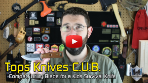 Tops CUB Survival Knife for Kids