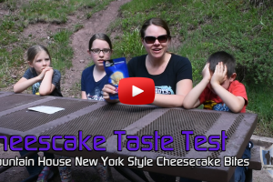 Mountain House New York Style Cheesecake Bites Taste Test