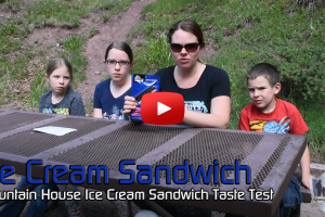 Mountain House Ice Cream Sandwich Taste Test