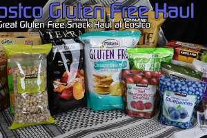 Costco Gluten Free Snack Haul
