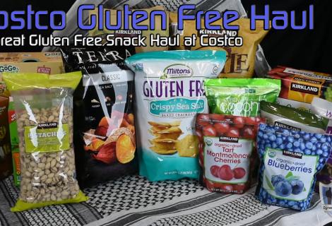 Costco Gluten Free Snack Haul