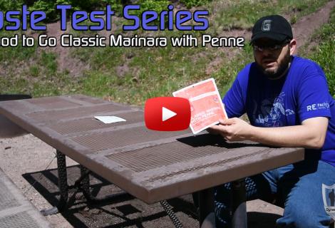 Good To Go Classic Marinara with Penne Taste Test