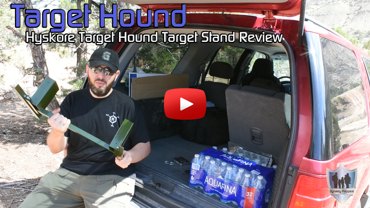 Hyskore Target Hound Portable Target Stand Review