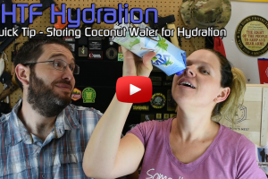 SHTF Hydration Quick Tip – Storing Coconut Water