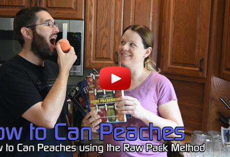 How to Can Peaches – Raw Pack