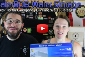 SHTF Water Storage Quick Tip – WaterBOB Emergency Water Storage