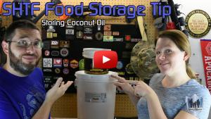 SHTF Food Storage - Storing Coconut Oil
