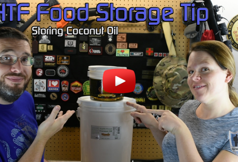 SHTF Food Storage Tip – Storing Coconut Oil