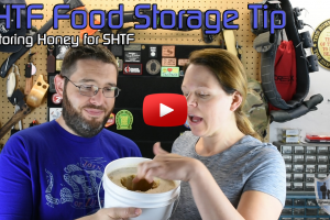SHTF Food Storage Tip – Storing Honey