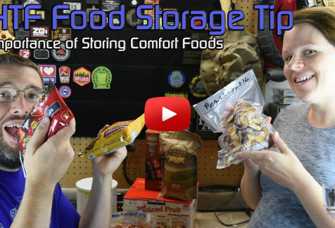 SHTF Food Storage Tip – Storing Comfort Foods