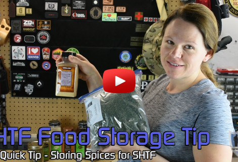 SHTF Food Storage Tip – Storing Spices