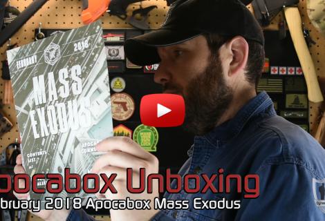 Apocabox Unboxing February 2018 Mass Exodus