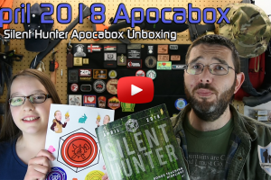 Apocabox Unboxing April 2018 Silent Hunter