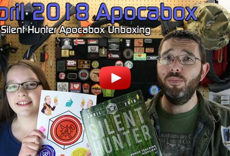 Apocabox Unboxing April 2018 Silent Hunter