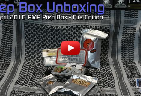 Prep Box Unboxing April 2018 Fire Box