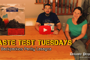 Backpackers Pantry Lasagna Taste Test