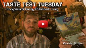 Backpackers Pantry Kathmandu Curry Taste Test