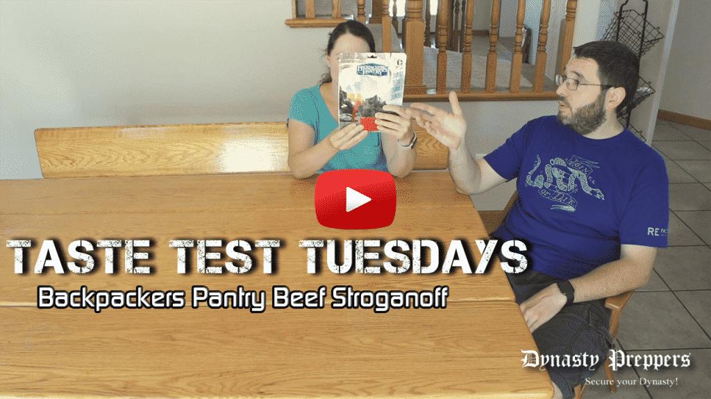 Backpackers Pantry Beef Stroganoff