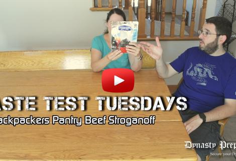 Backpackers Pantry Beef Stroganoff with Wild Mushrooms Taste Test