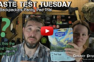 Backpackers Pantry Pad Thai Taste Test – Best backpacking food ever??