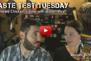 Omeals Chicken Creole with Brown Rice Taste Test