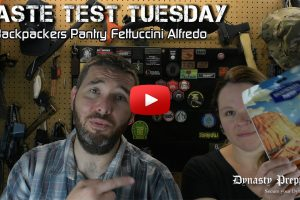 Backpackers Pantry Fettuccini Alfredo with Chicken Taste Test