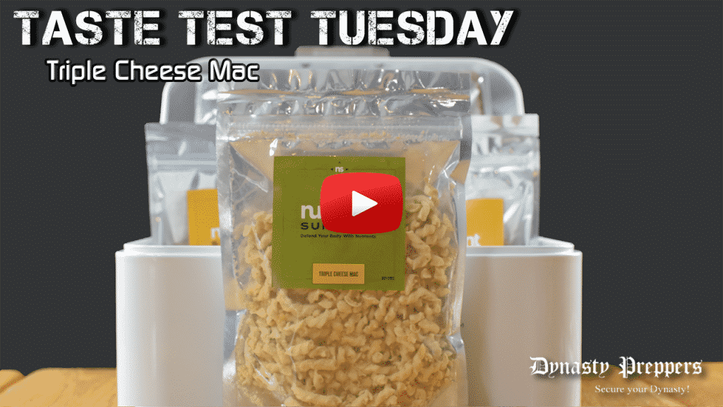 Nutrient Survival Triple Cheese Mac